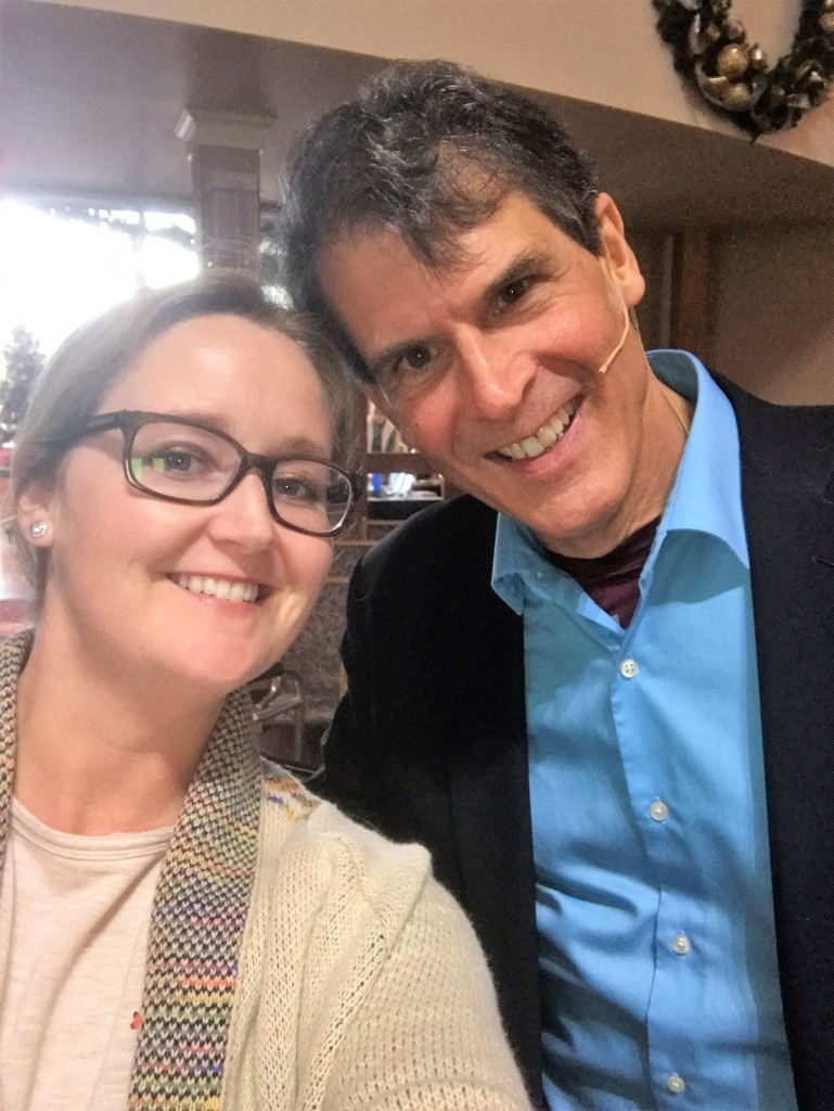 Dr. Eben Alexander and Emily McAleer